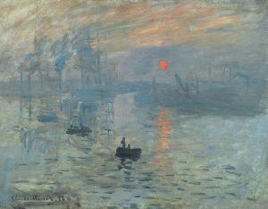 Клод Моне. Впечатление. Восход солнца